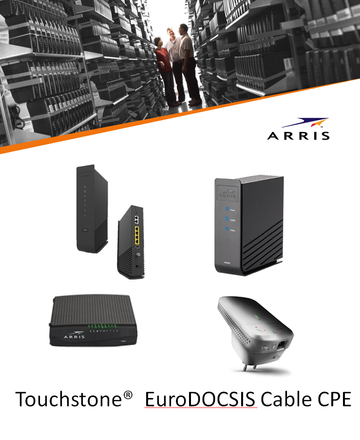 ARRIS Cable CPE