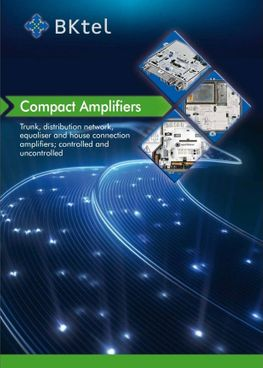 BKTel Compact Amplifiers