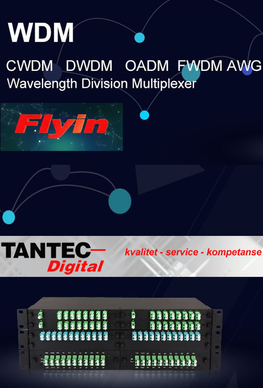 Flyin Fiber CWDM and Splitter LGX system