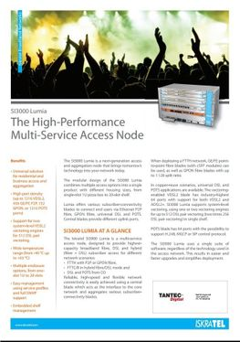 IskraTEL Multi Service Access Node